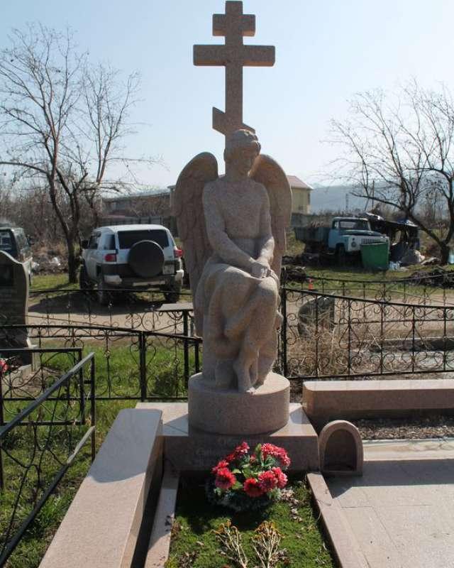 облицовка могилы плиткой